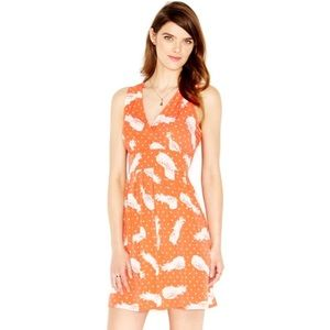 Maison Jules Pineapple Print Dress